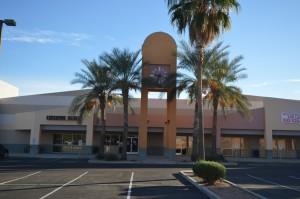 Front -- Clock Tower  Office Space Executive Suites Chandler