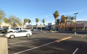Parking - Long Shot - front Office Space Executive Suites Chandler